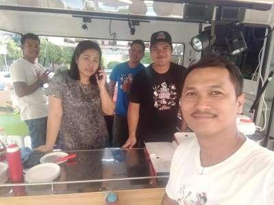 ทีมงาน I Am Pizza Food Truck ร่วมงาน