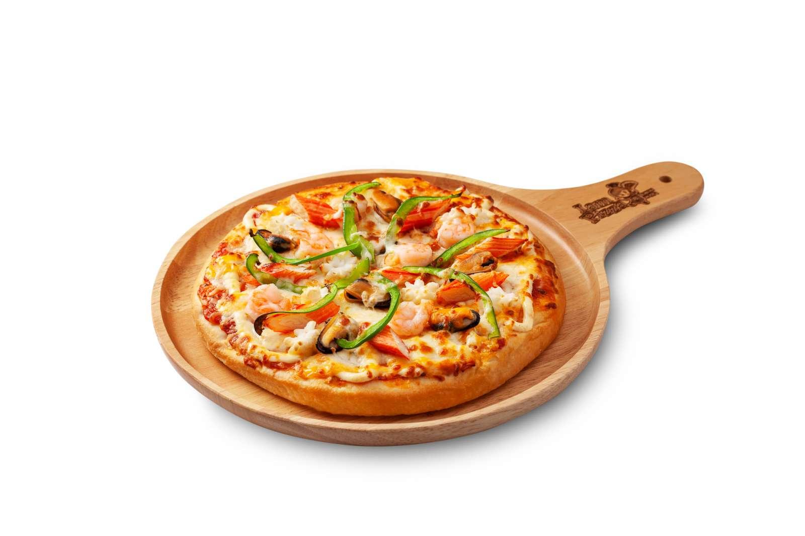 พิซซ่าหน้าซีฟู้ด (Pizza Seafood)