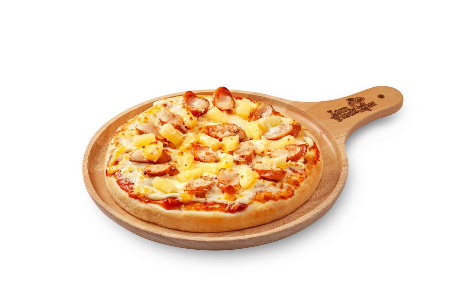 พิซซ่าหน้าซอสเซส ไอซ์แลนด์ (Pizza Sausage Island)